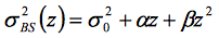 Quadratic z